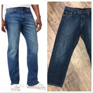 Calvin Klein relaxed straight leg jeans